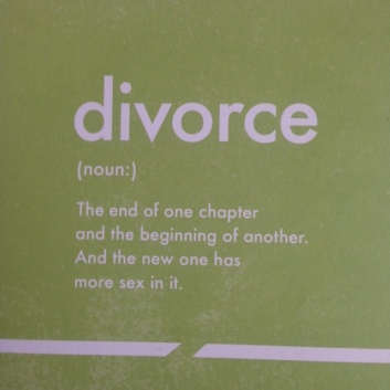 divorce card