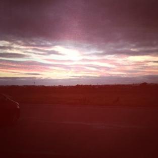 SunsetoverGarryvoe